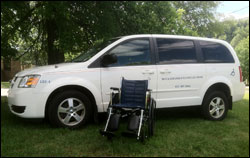 Wheelchair Van image